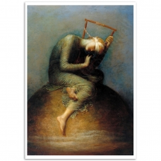 Fine Art Poster - Hope - George Frederick Watts